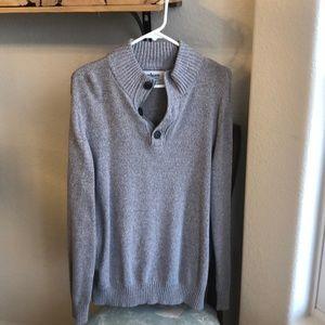 Heather Grey XXL Men's Sweater!